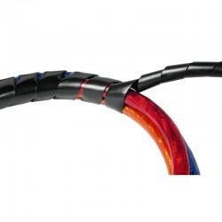 Tube spiralé, noir, 2,5 m Hama