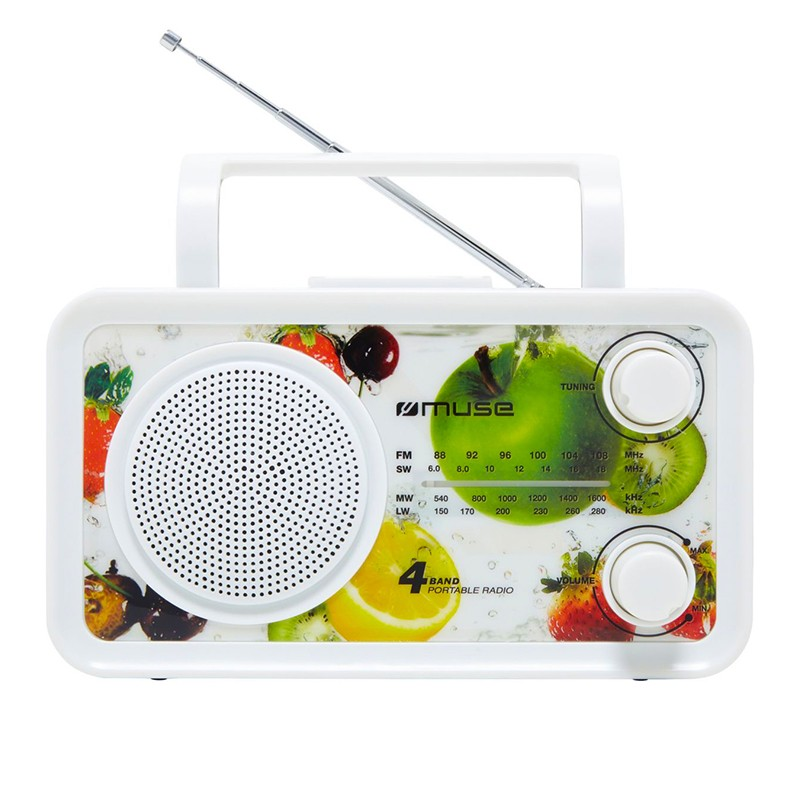 Radio Portable 4 Gammes Muse