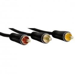 Câble Audio/Vidéo 3 RCA...