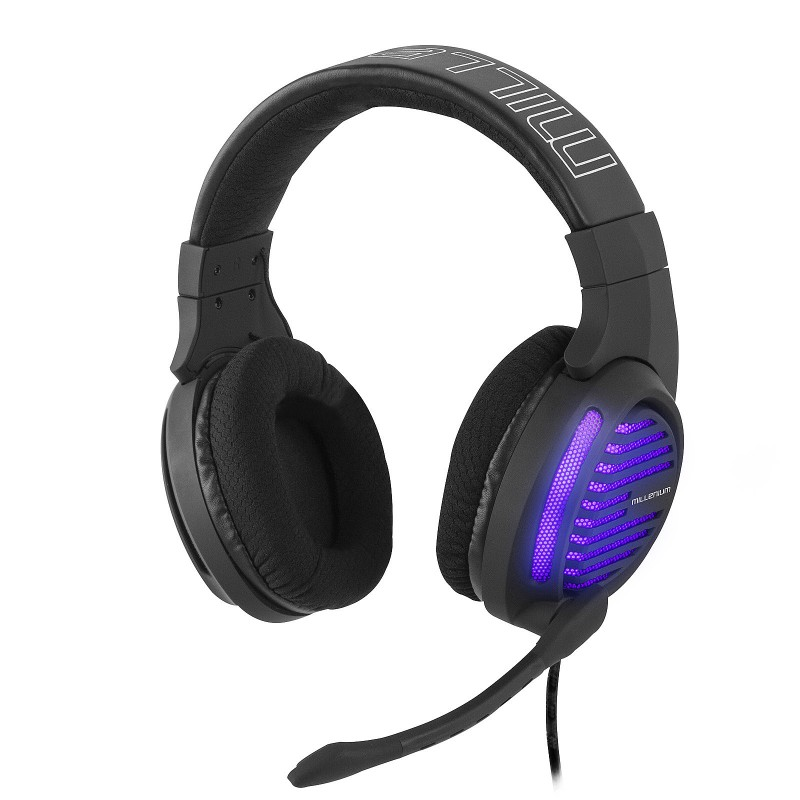 Casque Gaming LED Violet...