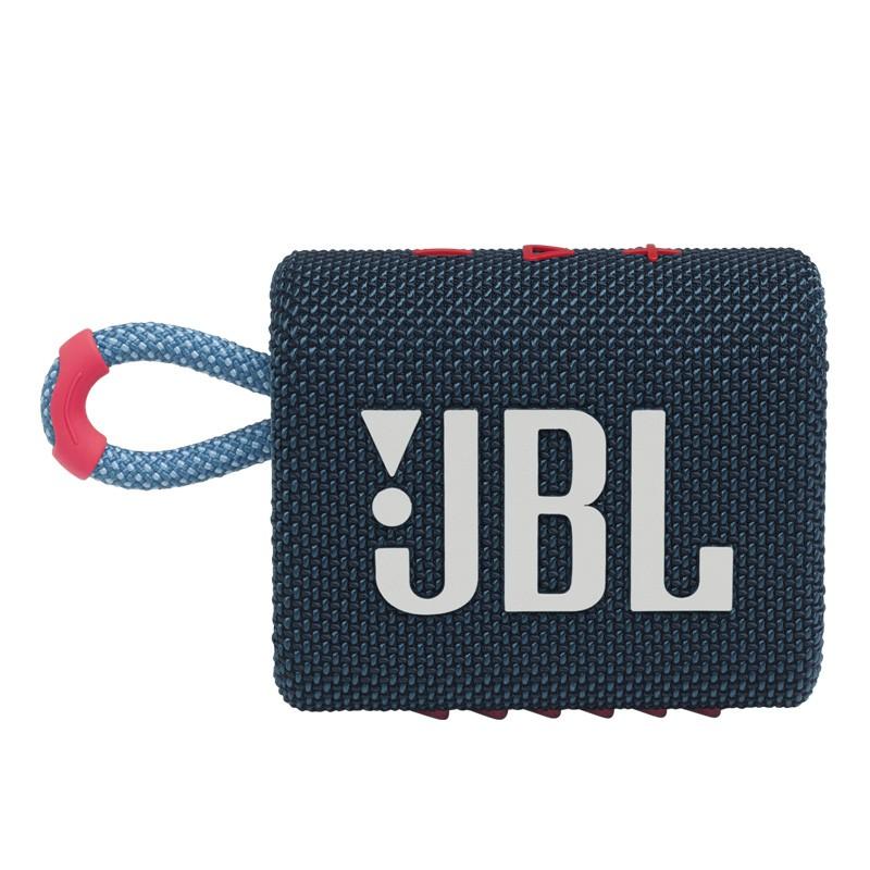 JBL GO3 Bleu / Rose
